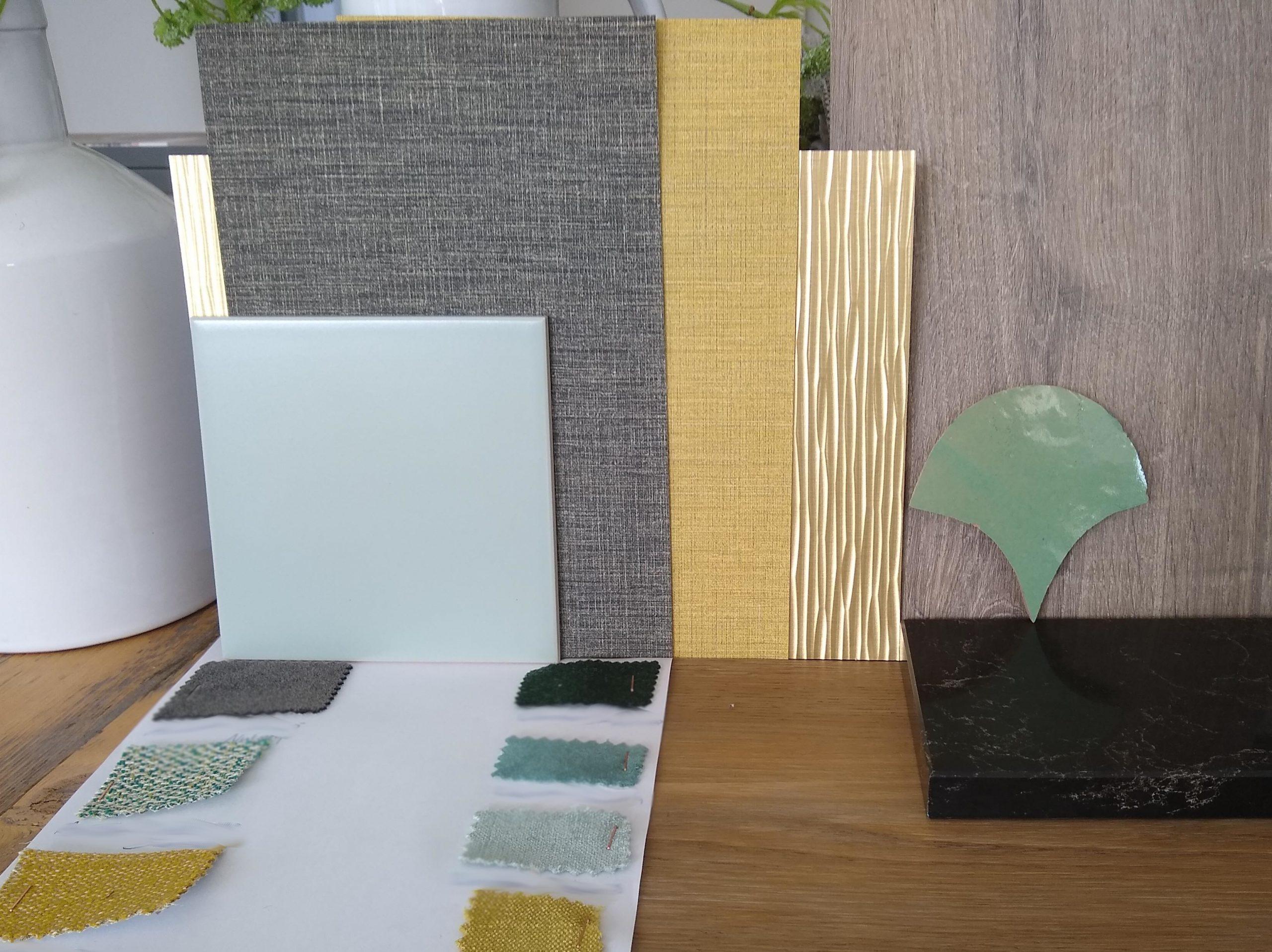 sfeer en materialen sessie interieur design