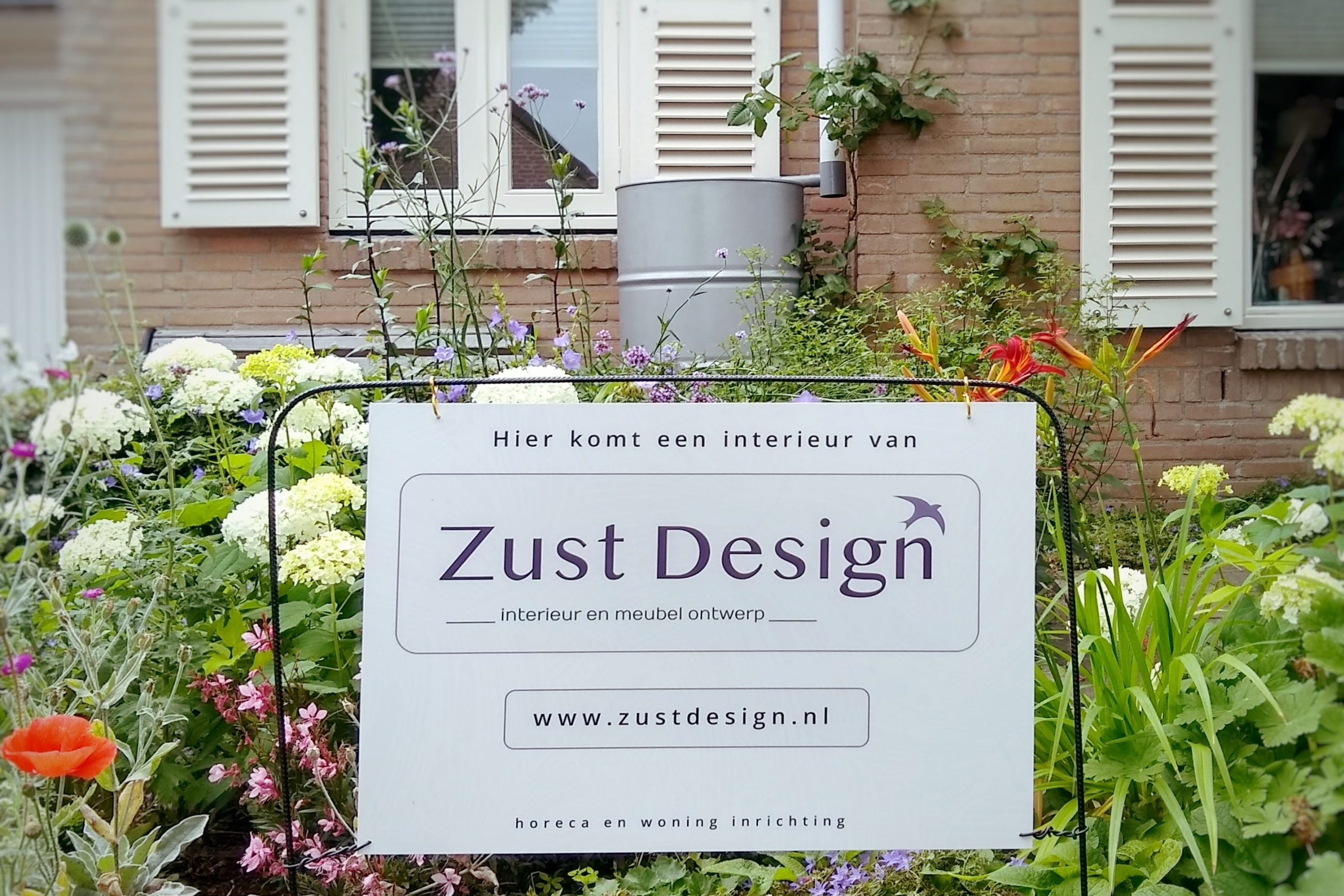 tuinbord interieur design van zust design